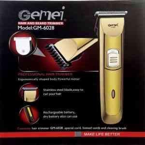 Gemei GM 6028 Rechargable Trimmer