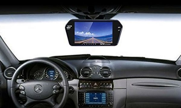 7 inch rear view monitor,