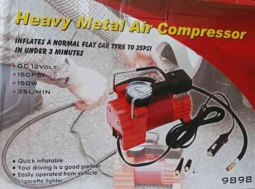 Heavy metal air compressor