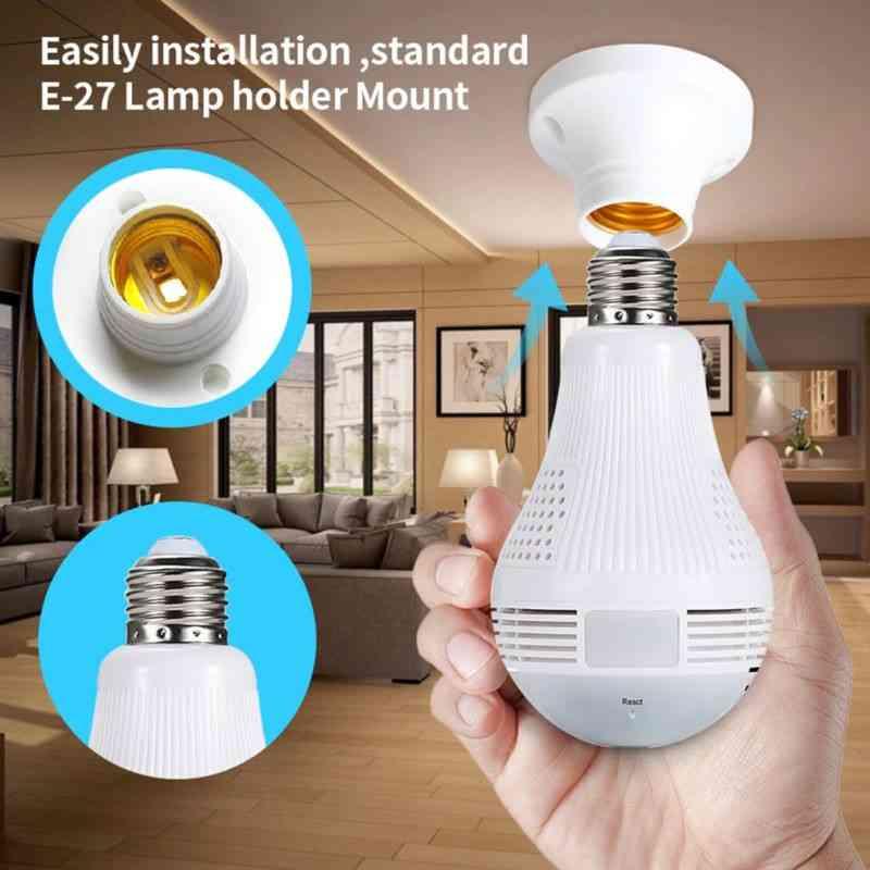 bulb wifi camera