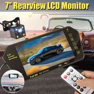 7 inch car rear view monitor