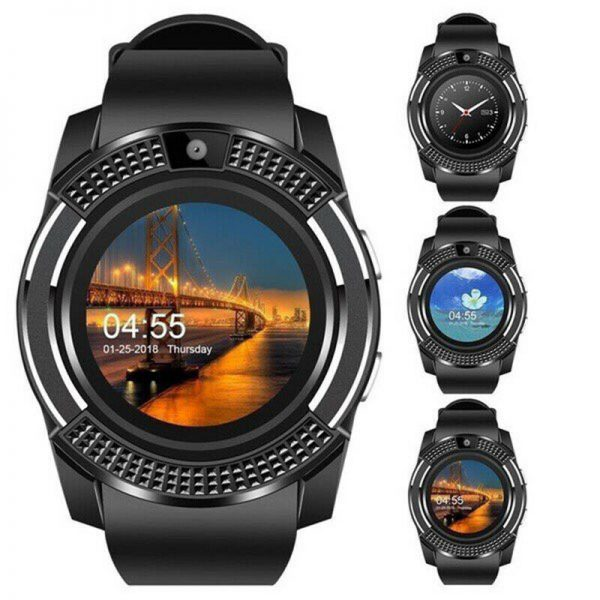 Full Touch Smart Watch Phone with sim and Camera 1