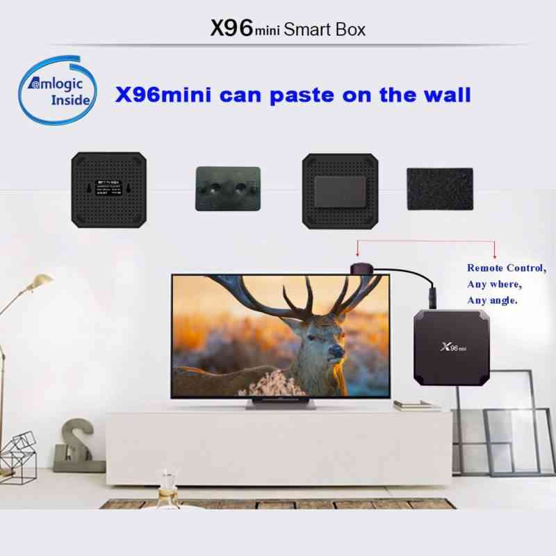 x 96 mini tv box