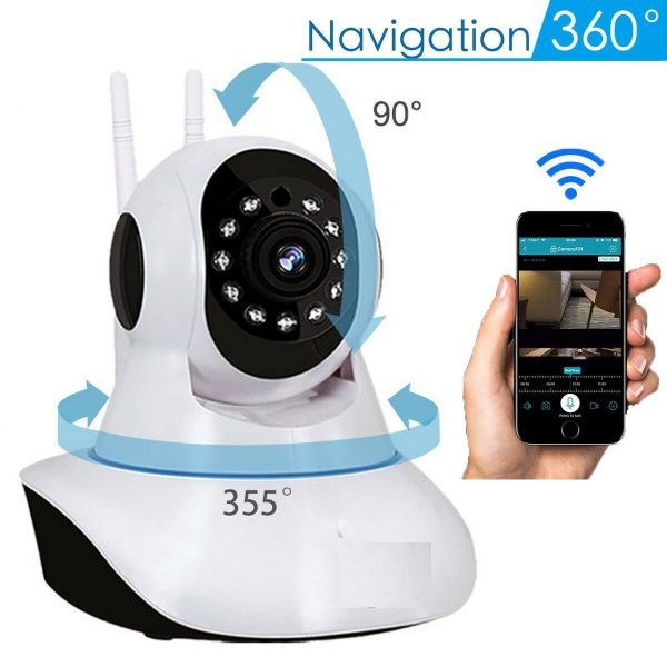 mobile view wireless ip camera