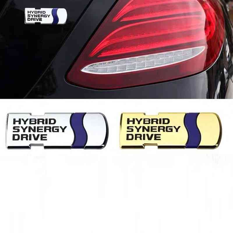 hybrid synergy drive gold colour metal badge sri lanka