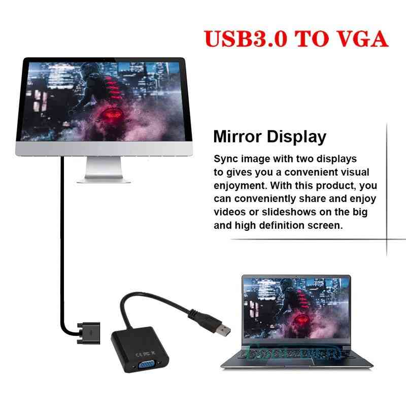 USB 3.0 to VGA Adapter