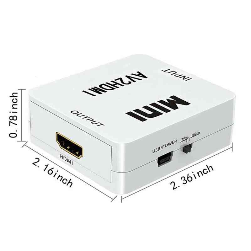 Mini AV2HDMI HD Video Converter