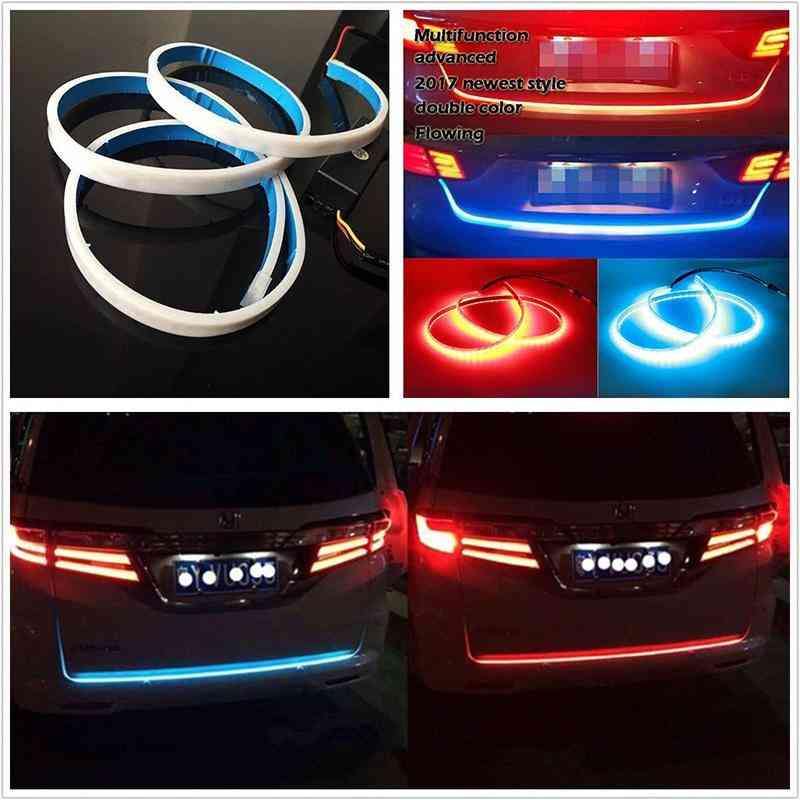 Flowing Tail Light Strip Lamps 4 Color +Controller Box