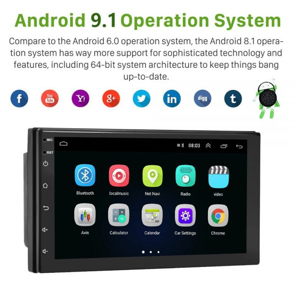 android car audio player