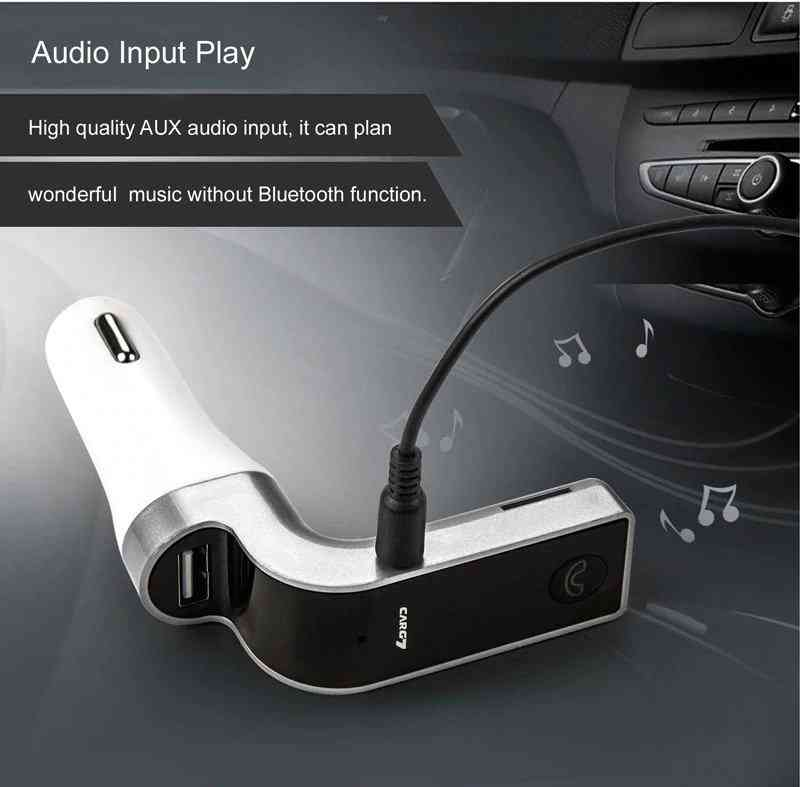 car g7 usb aux fm bluetooth trasmitter