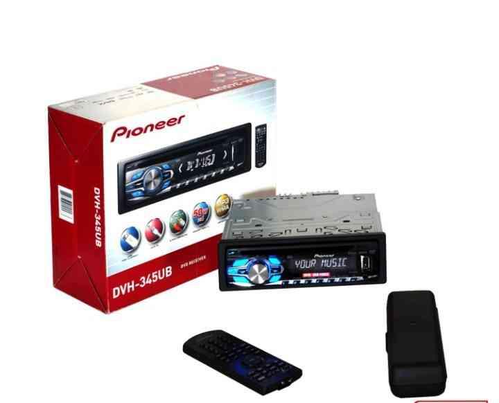 pioneer car dvd player dvh-345ub