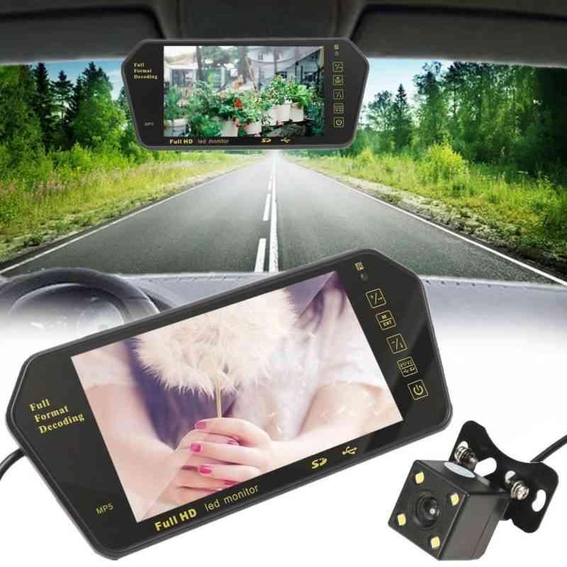 Car LCD monitor with reversing camera sri lanka best price