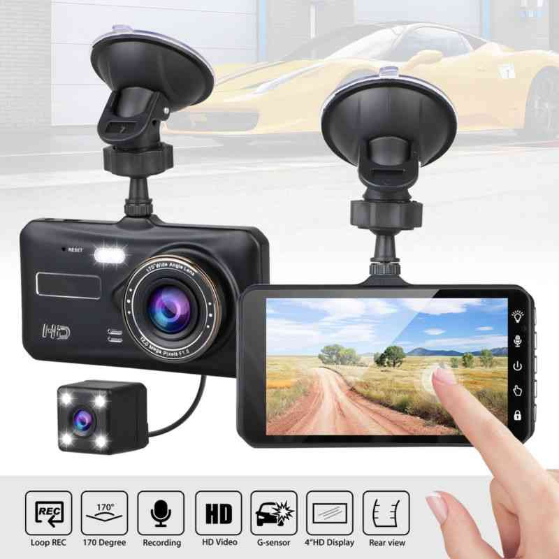 full touch car camera 4 inch
