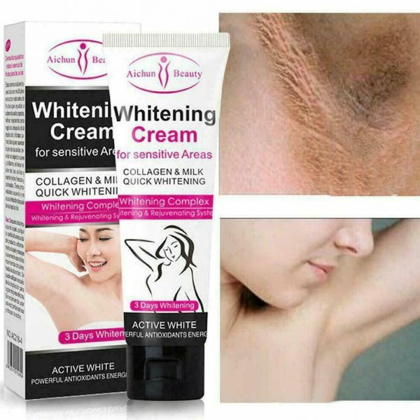 sensitive area whitening cream