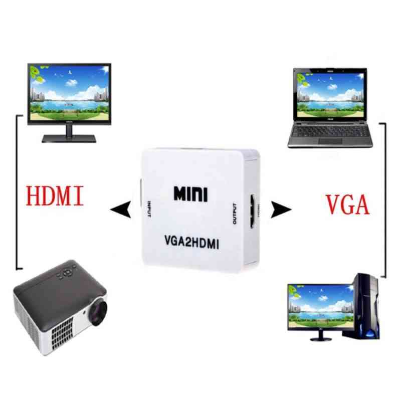 vga to hdmi converter box