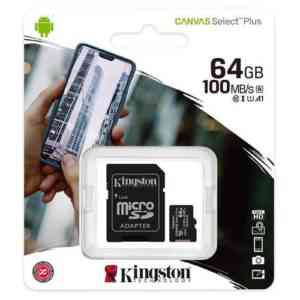 Kingston 64 GB Micro SD Card