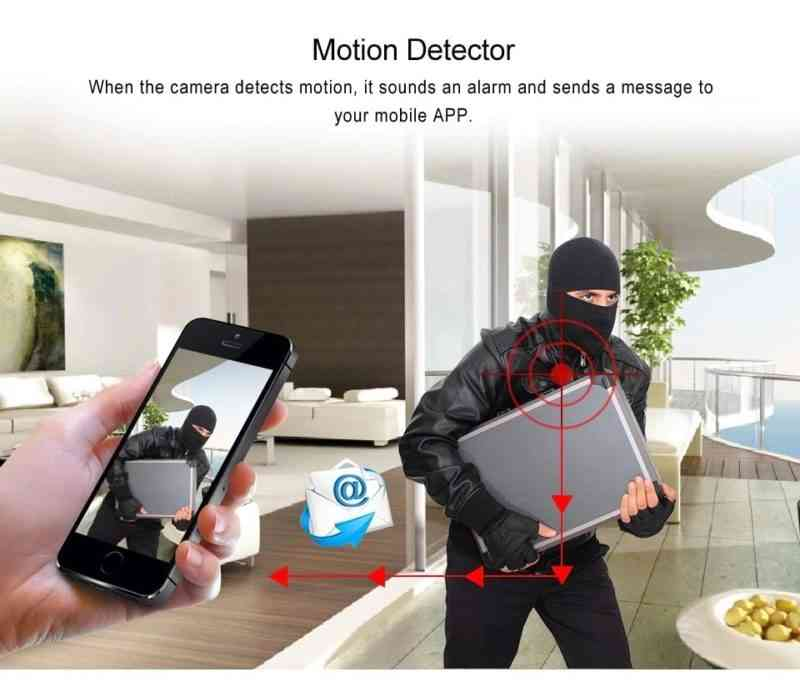 hidden security ip camera 1080 video recorder