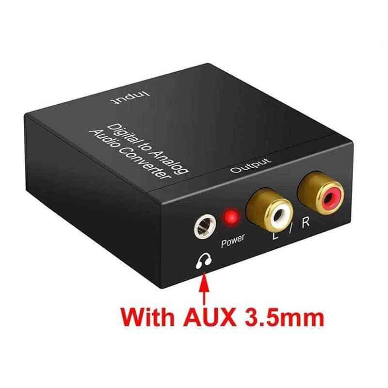 portable digital to audio converter