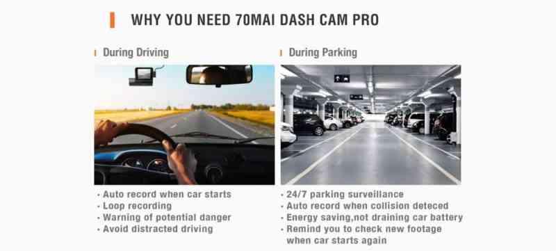 super night vision xiaomi dash camera pro
