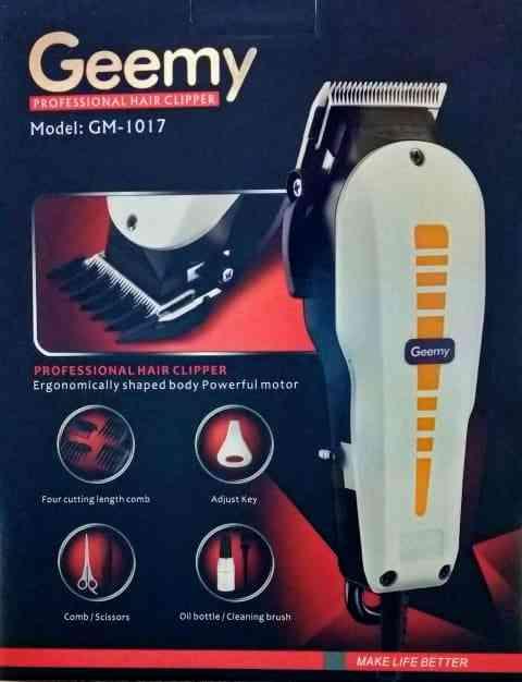 Best hair trimmer in sri lanka geemy gm 1017