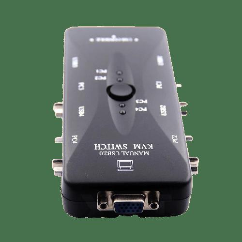 kvm switch 4 port vga
