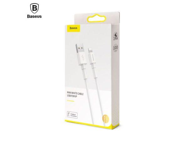Baseus Mini White Cable USB for IP