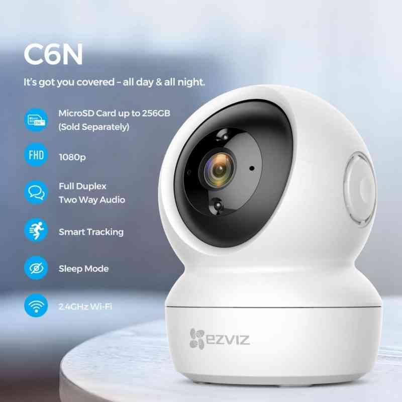 hikvision wifi camera c6cn