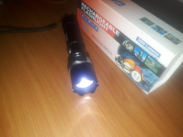 Super Bright LED Torch for Gem Inspection